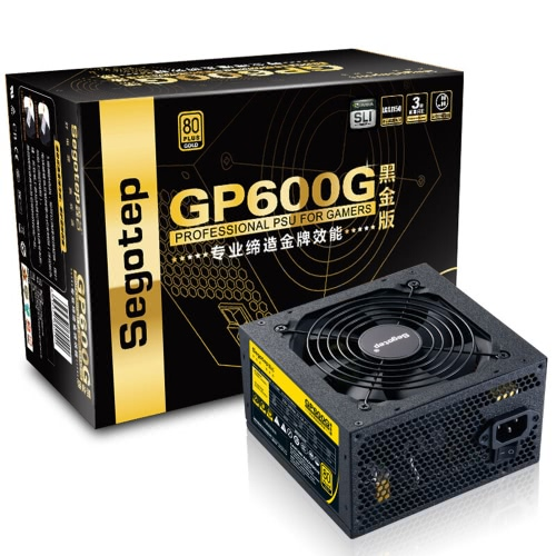 Segotep 500W GP600G ATX PCコンピュータ電源PSU
