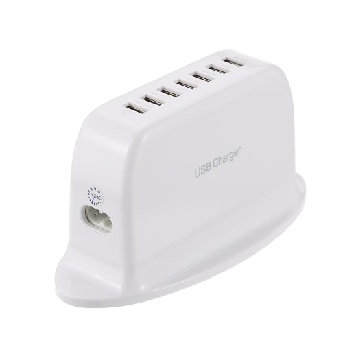 7 portów USB Desktop Charger Adapter Hub Multi Port USB Wall Charger Dock Station z Intelligent IC Auto Detect Tech