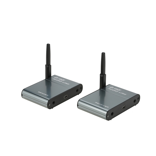 Transmissor de áudio sem fio digital 2.4G Suporte e adaptador do receptor Alto-falante para HiFi Home Audio Sistemas de som de transmissão de música estéreo