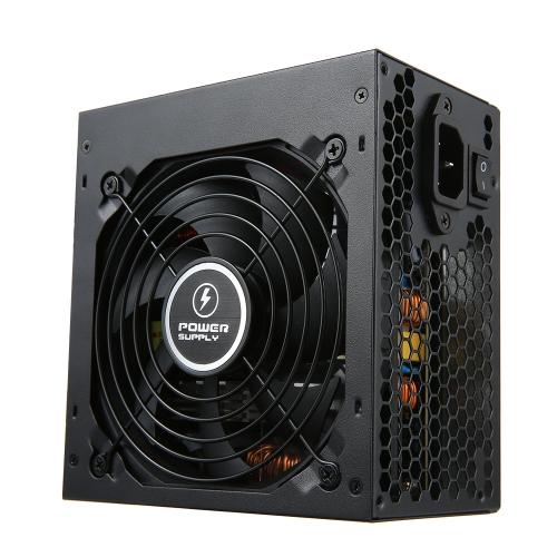 600W ATX12V V2.31 Active PFC fonte de alimentação do computador com ventilador de baixo ruído 120mm