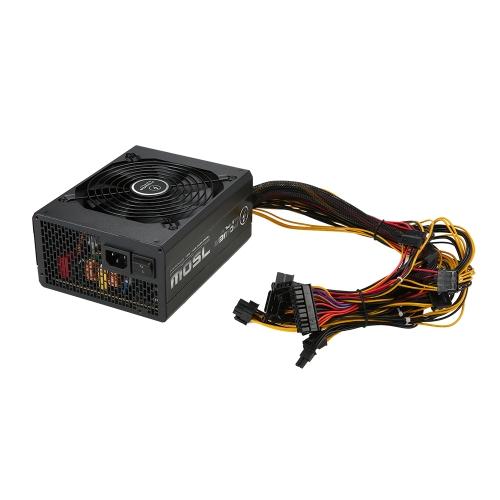 750 W ATX12V V2.31 Aktywny zasilacz komputerowy PFC z wentylatorem 120mm o niskim poziomie hałasu