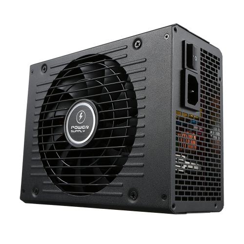 1000W ATX12V V2.31 Active PFC Full Modular Computer Power Supply com ventilador de baixo ruído de 140mm