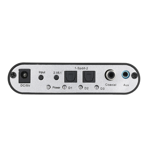 5.1 Channel AC3-DTS Audio Gear Digital Surround Sound Decoder HD player with USB Port