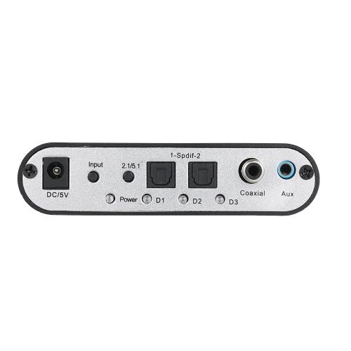 5.1 Channel AC3-DTS Audio Gear Digital Surround Sound Decoder HD player with USB Port