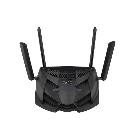 ZAPO Double-bande Wi-Fi Routeur AC 2600 Mbps Puissant Signal 2.4G 5G Sans Fil Gaming Router 4 Rotation Antenne USB Fichiers Répéteur De Stockage