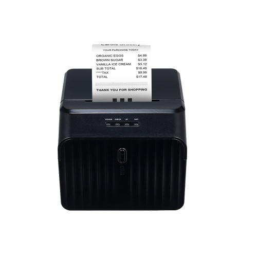 USB Printer High Quality Thermal Receipt Printers Qr Code Barcode Sticker Adhesive Printer 58mm EU Plug