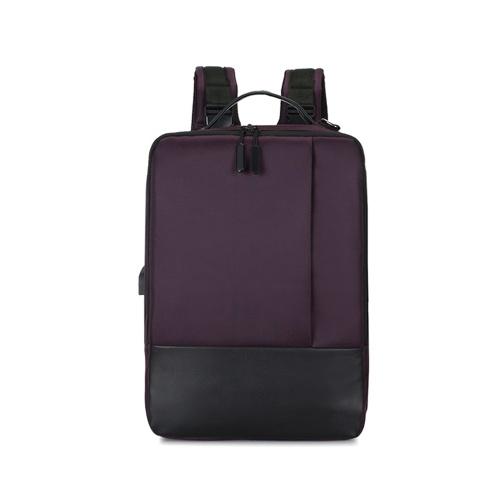 Bild von Multifunktions-Mode-Rucksack große Kapazität Laptop-Rucksack-Computer-Tasche mit USB-Ladeanschluss passt 15,6 Zoll Laptop