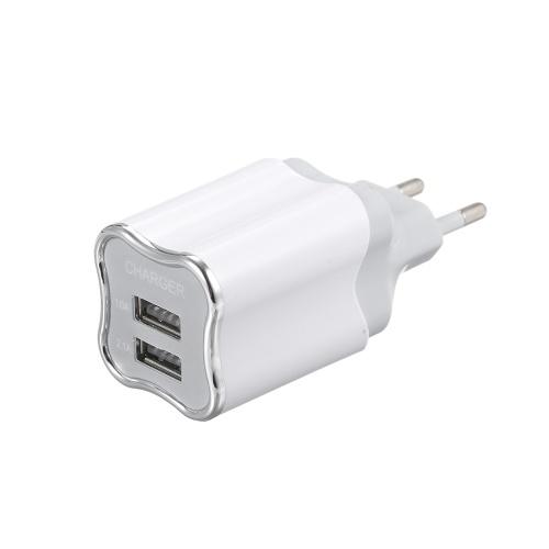 スマートフォンのタブレットのための普遍的な二重港USBの壁の充電器力のアダプターの携帯電話の充電器