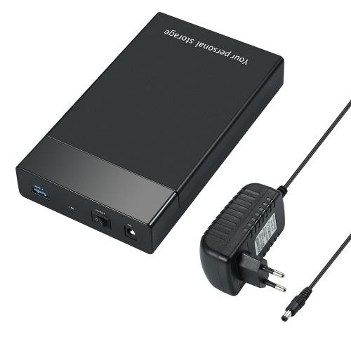"""Hard disk esterno da 6 Gbps USB 3.0 a SATA III da 2,5 pollici da 3,5 pollici Contenitore HDD HD SSD da 2,5 """"per disco rigido da laptop da 3,5"""""""