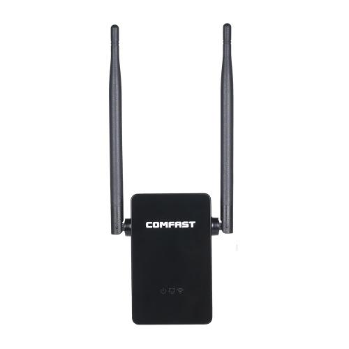 COMFAST WiFi Repeater Беспроводной двухдиапазонный маршрутизатор 750 Мбит / с AP Режим WiFi Extender 2.4G и 5.8G Беспроводной ретранслятор