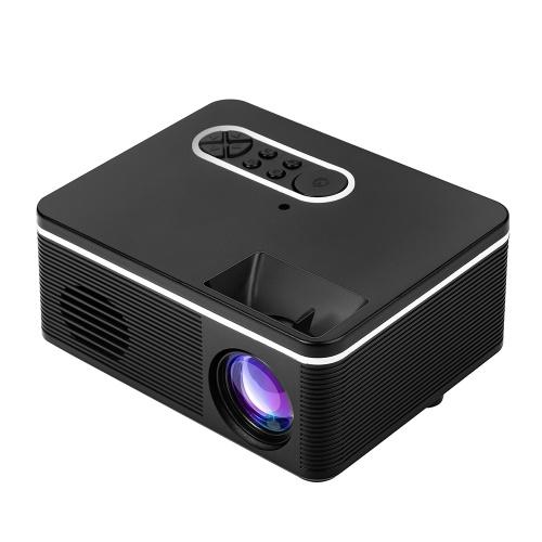 1080 P Mini HD Projetor Portátil LED Luz USB Porta AV Para Home Office Theater Ao Ar Livre Plugue DA UE