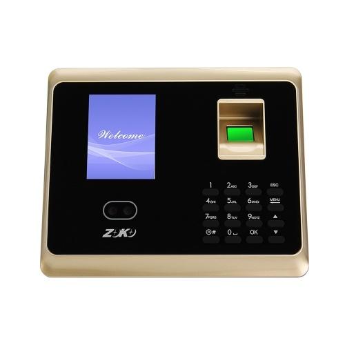 ZK-TA50 Face Fingerprint Recognition Access Control System Password Attendance Machine EU Plug