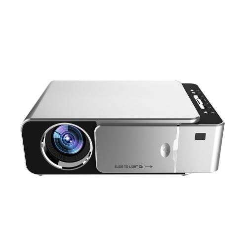 Supporto per proiettore LCD T6 Smart Wifi 1080p HD LED Mini proiettore portatile Video per videogiochi Home Cinema Spina europea