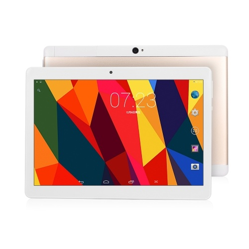 MGK107 10.1-inch Metal Tablet Business Tablet IPS Touch Screen Android System  1920*1200 2GB+16GB Gold EU Plug