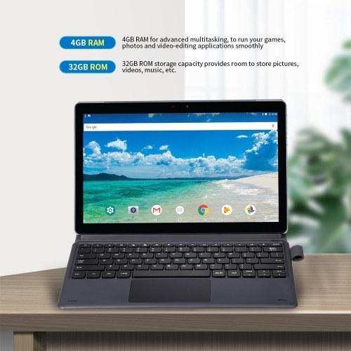 MGX20 11.6 inch Tablet Android 8.1 MT6797 Deca-core Processor 2.0MP + 5.0MP Camera 4GB+32GB Tablet Grey EU Plug