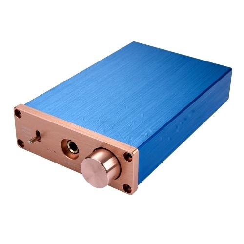NK-P90 24BIT Amplificatore audio digitale USB / ottico / coassiale Decodificatore DAC Convertitore audio da digitale ad analogico Spina UE
