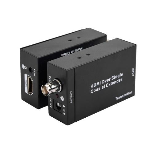 NK-C100IR HDMI Over Single Coax Extender 75ohm RG-6U 1080P Coax Cable Transmitter Sender Receiver