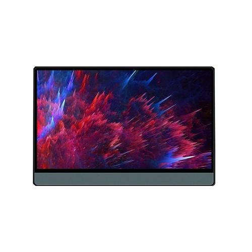T-bao T13A Monitor portatile da 13.3 '' con espansione dello schermo di supporto del pannello IPS HD 1080P per switch / PS3 / PS4 / PC / laptop Spina UE