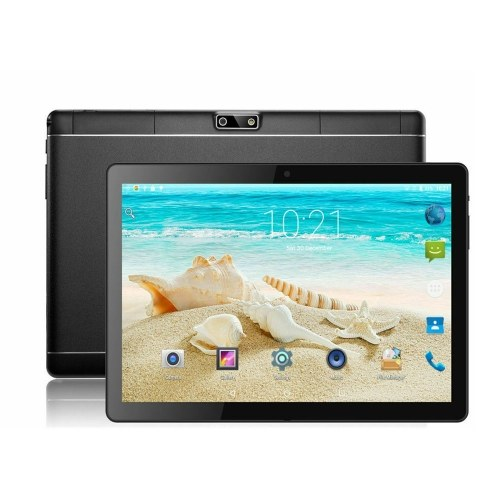 Y13 10.1inch Quad-core Tablet Android 4.4 Business Tablet with IPS Touch Screen 1280*800 Resolution 1GB+16GB Black EU Plug