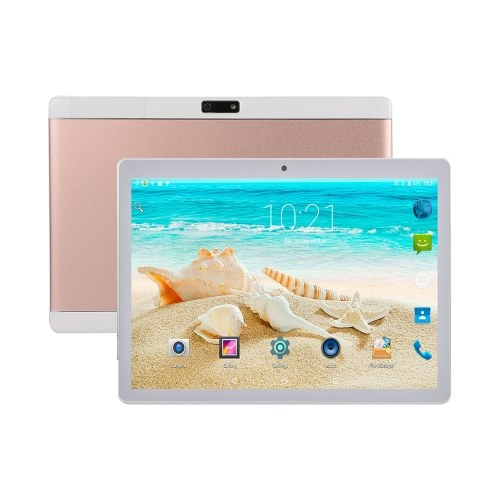 Y13 10.1inch Quad-core Tablet Android 4.4 Business Tablet with IPS Touch Screen 1280*800 Resolution 1GB+16GB Rose Gold EU Plug
