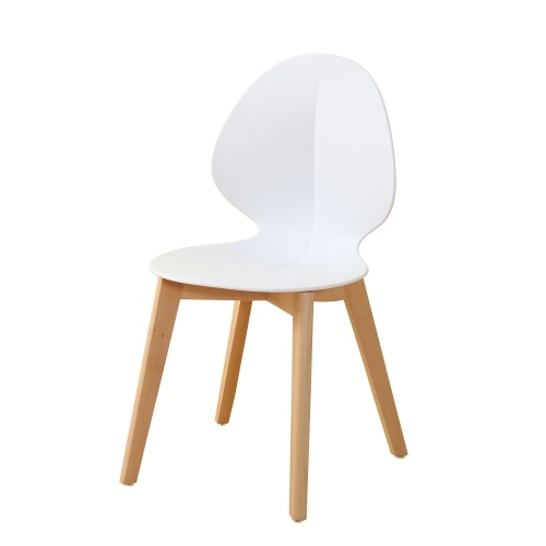 Lot de 2 chaises scandinave Interougehome - 2 coloris disponibles