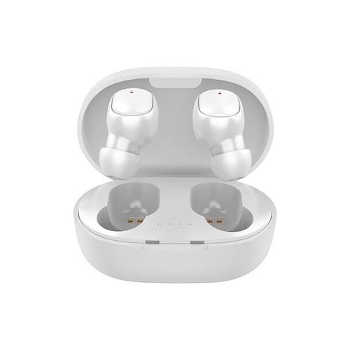 A6S sans fil BT écouteur stéréo Mini Design casque étanche pour véhicule / Sport Android / IOS blanc