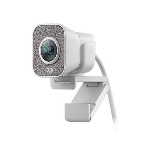 Logitech StreamCam FHD 1080P Auto Focus Webcam with Type-C Interface Support Horizontal&Vertical Modes for Live Streaming White