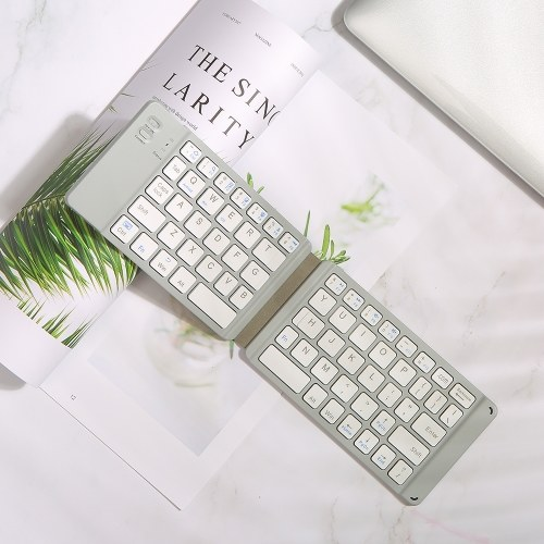 Convenient Folding BT Keyboard Compatibility Intelligent Matching Simple & Compact Long-lasting Battery Life