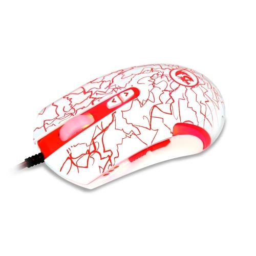 Redragon M701 Lavawolf USB com fio Gaming Mouse 3500DPI ajustável óptica computador Office