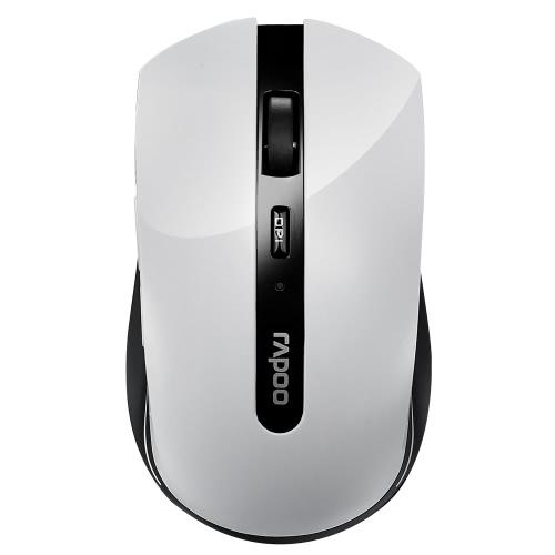 Rapoo 7200P 5.8G sem fio silencioso mouse óptico portátil ratos 1000 DPI para Mac PC computador portátil
