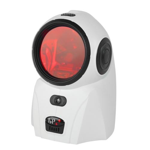 BP 2082 USB Omindirectional Laser Barcode Scanner Портативный сканер штрих-кодов с детектором денег для супермаркета Банк Промышленный коммерческий экономический медицинский белый
