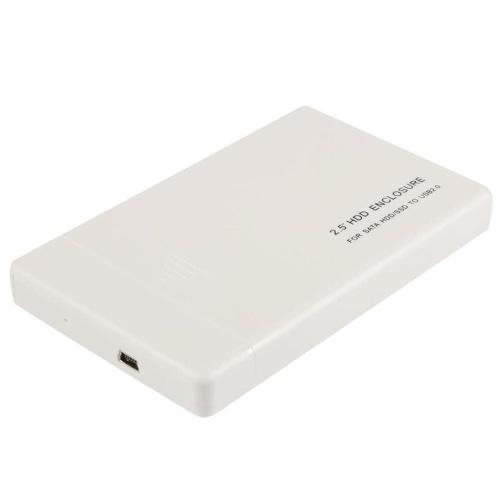 Transmissão de dados de 480mbps do recinto de 2.5in HDD