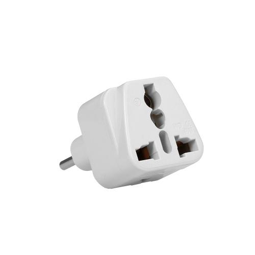 Высокое качество Swiss Embedded Conversion Plug 3-луночное адаптер Адаптер Swiss Plug to Universal Socket Адаптер для вилки для путешествий Белый