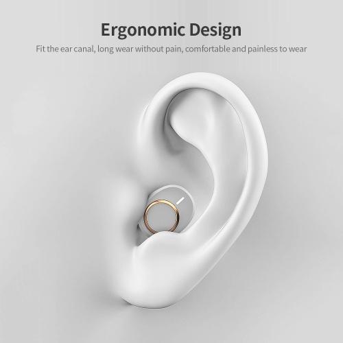 Lenovo X18 Wireless Earphone BT 5.0 Headphone Sports Waterproof Earbuds In-ear Wireless Headphone White