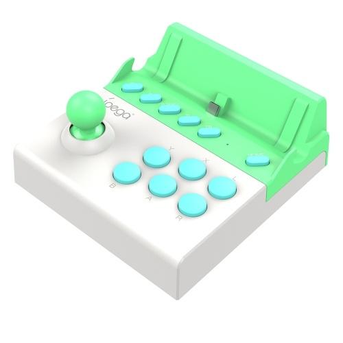 IPEGA PG-9136A Arcade Game Joystick Single Rocker Mini Gamepad Controller portatile per Switch Accessori Console Bianco Verde