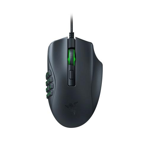 Razer Naga X MMO Kabelgebundene RGB-Gaming-Maus Leichte Maus mit optischem Razer-Mausschalter der 2. Generation 16 programmierbare Tasten