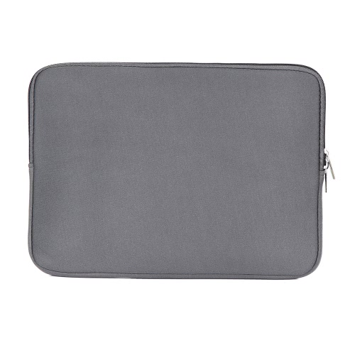 Zipper bolsa de manga macia para MacBook Air Ultrabook Laptop Notebook 11 polegadas 11