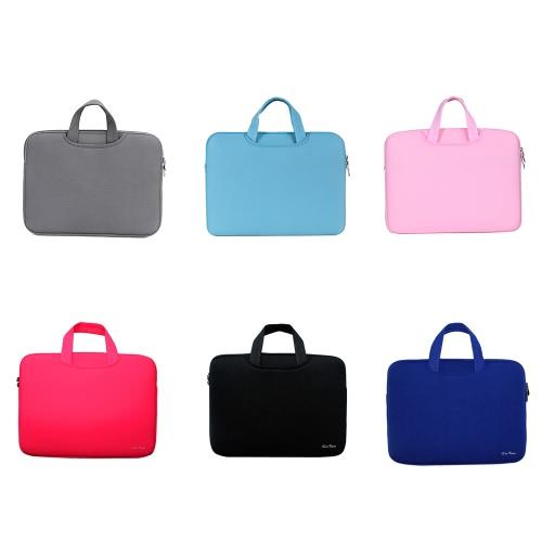 Мягкий чехол Сумка для портфеля с сумкой для сумки для MacBook Pro Retina 15-дюймовый 15,6-дюймовый ноутбук для ноутбуков Ultrabook фото