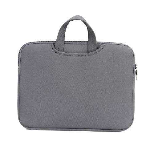 Malha de malha macia Mala de malas Bolsa de mão para MacBook Pro Retina 15 polegadas 15.6