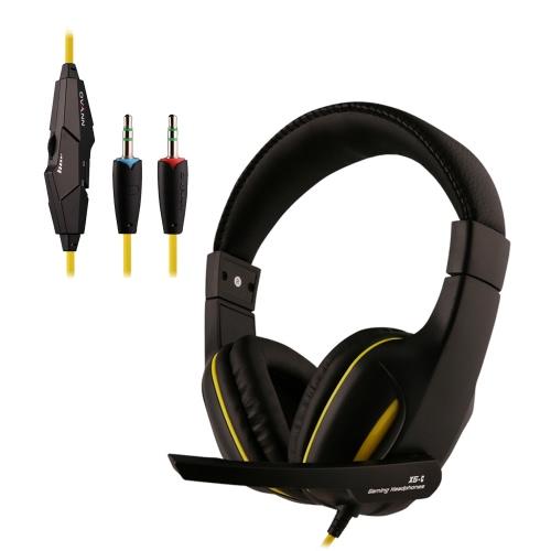 Ovann X5-C Profesjonalne Esport Stereo Gaming Headset Słuchawki douszne Bass Powyżej uszu 3.5mm przewodowa z mikrofonem do PC komputerze przenośnym