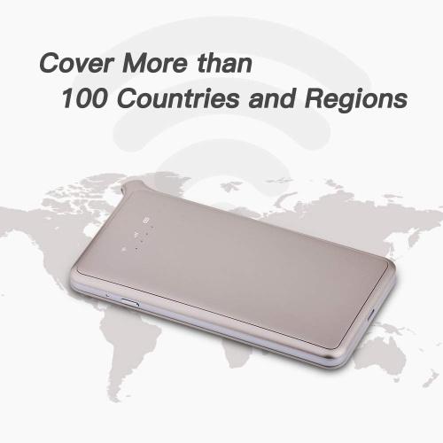 GlocalMe U2S 4G LTE Беспроводной терминал передачи данных Глобальный портативный Wi-Fi 4G Роуминг Бесплатный Hotspot SIM-карта охватывает более 100 стран Серый фото