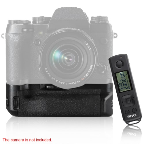 MEIKE MK-XT1 Pro Vertical Dual Dial Battery Grip Replacement Remote Wireless Control for Fujifilm Fuji X-T1