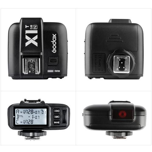 Godox X1T-N TTL 2,4 G Wireless Flash Trigger Sender für Nikon DSLR-Kameras