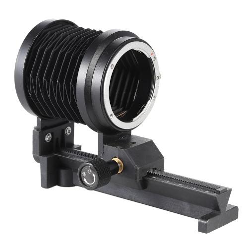 Soufflet d'extension macro pour objectif à monture F Nikon D90 D80 D60 D7100 D7000 D5300 D5200 D5100 D3300 D3100 D3000 Al SLR