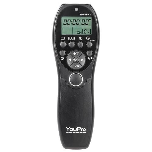 YouPro YP-VPR1 photographie vidéo filaire affichage minuterie obturateur sortie télécommande LCD pour Sony DSLR caméra caméscope