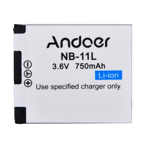 Andoer Akumulator NB-11L kamera wideo litowo-jonowy 750mAh 3.6V do Canon PowerShot SX410 SX400 IS ELPH 350 HS