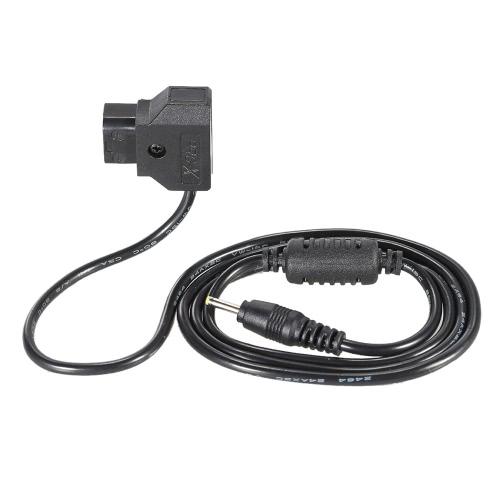 D-Tap 2 Pin Mężczyzna złącza DC 2,5 * 0,7 mm Wtyk Przewód zasilający Kabel BMPCC Blackmagic kieszonkowy 92cm in Długość