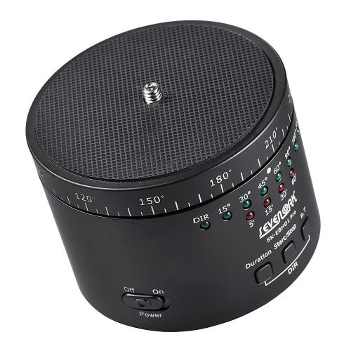Sevenoak SK-EBH01 Pro électronique Panaromic Time-Lapse Photographie trépied Boule Pan Head Max. Capacité de charge de 2kg / Smartphone Camera 8.8Lbs pour Sport Cam système Compact