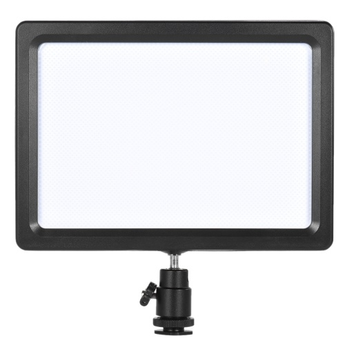 Andoer PAD-112 Slim LED Wideo Wypełnij światło panel 3200K-5600K Regulowany CRI85 temperatury + Nikon Sony Canon EOS Camera kamery
