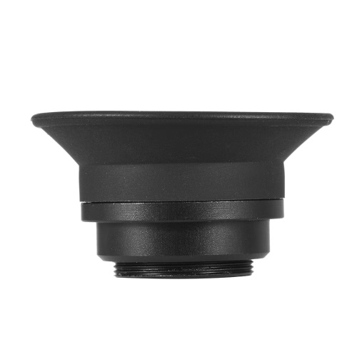 1.51X Fixed Focus Viewfinder Eyepiece Eyecup Magnifier for Canon Nikon Sony Pentax Olympus Fujifilm Samsung Sigma Minoltaz DSLR Camera w/ 2 * Eyepatch